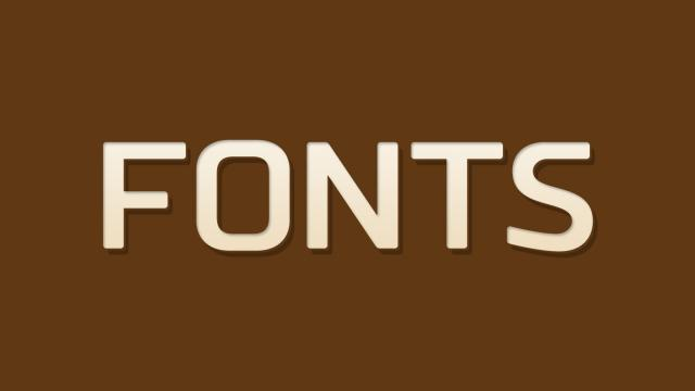 Friday Fresh Free Fonts - Atletico, Meticulous, Russo Sans