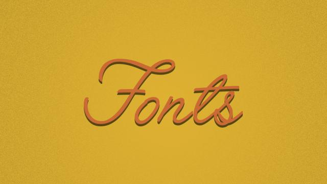Friday Fresh Free Fonts - Retro Sans, Angelface, Blogger Sans