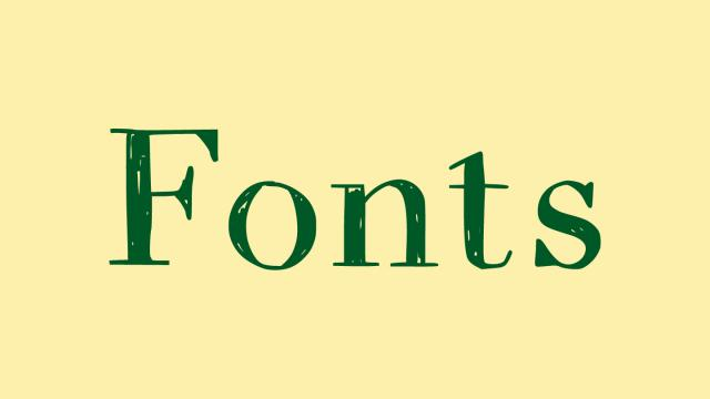 Friday Fresh Free Fonts - Espacio Novo, Whimsy, Drugs Thin
