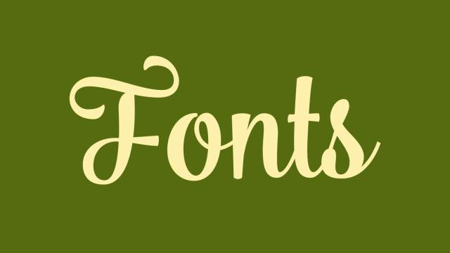 Friday Fresh Free Fonts - Pier, Bulgary, Cicero Serif