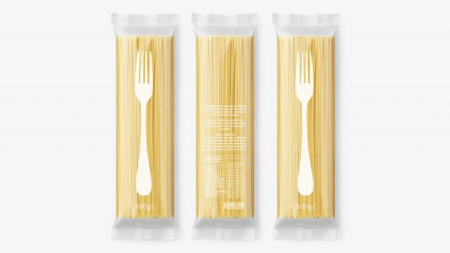 Carbs are the new black: Playful Pasta Packaging Design