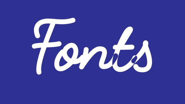 Friday Fresh Free Fonts - Geomanist, Fabfelt Script, Besom