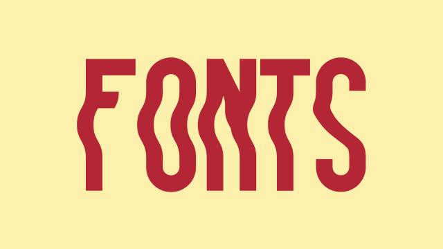 Friday Fresh Free Fonts - New York Escape, Liquido, Rhanoll