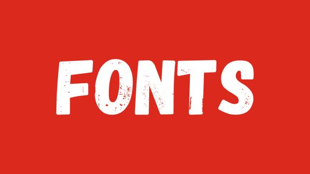 Friday Fresh Free Fonts - Arcon, Gagalin, Adam GG Pro