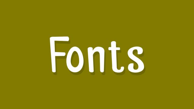 Friday Fresh Free Fonts - Palitoon, Ikaros, Typo Grotesk Rounded