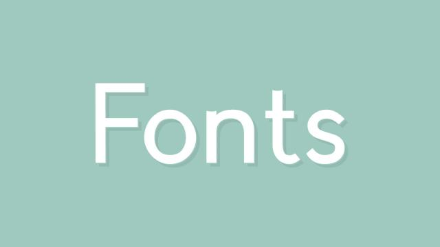 Friday Fresh Free Fonts - Reef, Quirko, Crescent