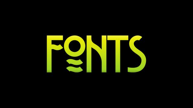 Friday Fresh Free Fonts - Belladona, Poison Hope, Stormfaze