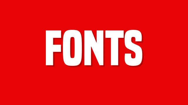 Friday Fresh Free Fonts - Slim Jim, Arctic, Built Titling