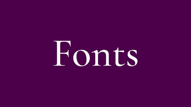 Friday Fresh Free Fonts - Ikra Slab, Cormorant