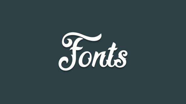 Friday Fresh Free Fonts - Paciencia, Fadli Script