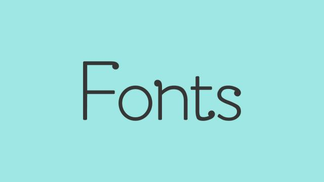Friday Fresh Free Fonts - Amsdam, Summer