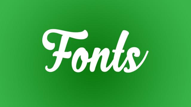 Friday Fresh Free Fonts - Horticulture, Zhafira