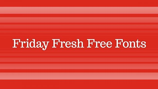 Friday Fresh Free Fonts - Trocchi, Questrial, Linux Libertine