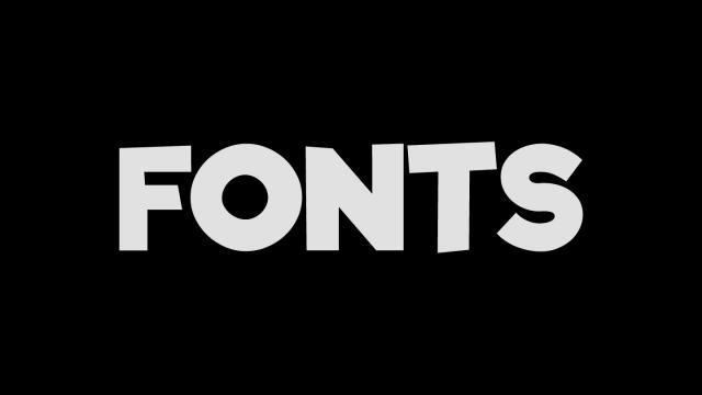 Friday Fresh Free Fonts - Glacial Indifference & Riffic