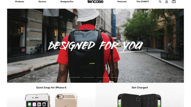 UI/UX Incase eCommerce Design