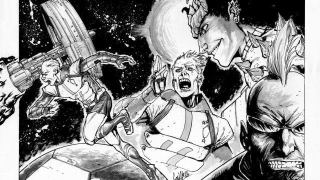 Comic Book Artist: André Coelho