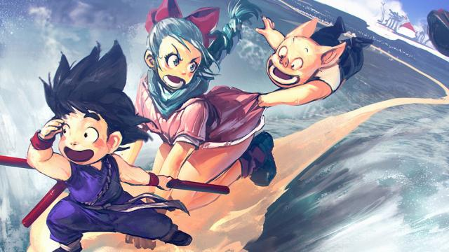 Kickass Collection of Dragon Ball Fan Art