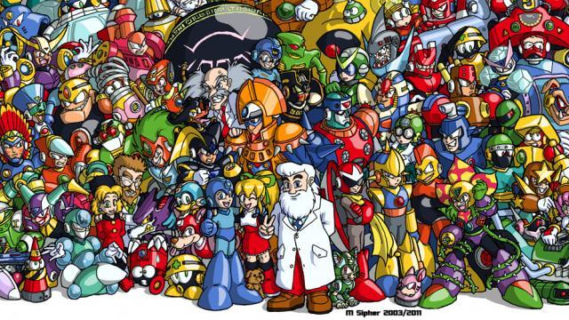 Stunning Mega Man Compilation
