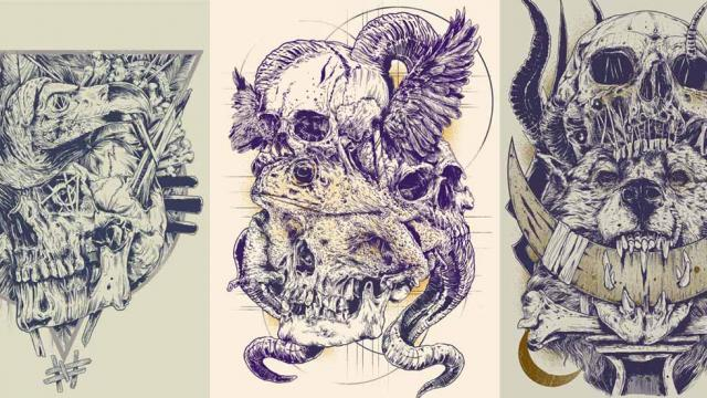 Terrific Illustration Projects by Rafal Wechterowicz