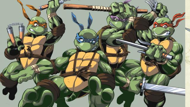 Awesome Collection of TMNT Artworks
