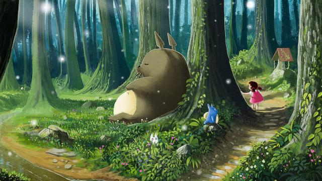 Amazing Totoro Fan Art