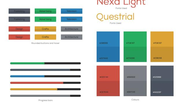 Colours User Interface Design