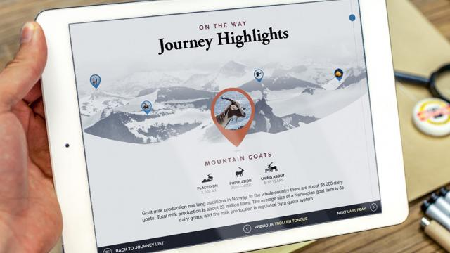 UI Design: Journey App