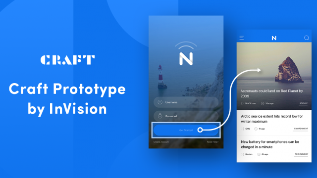 InVision is bringing Prototyping Tools within Sketch with Craft Prototype