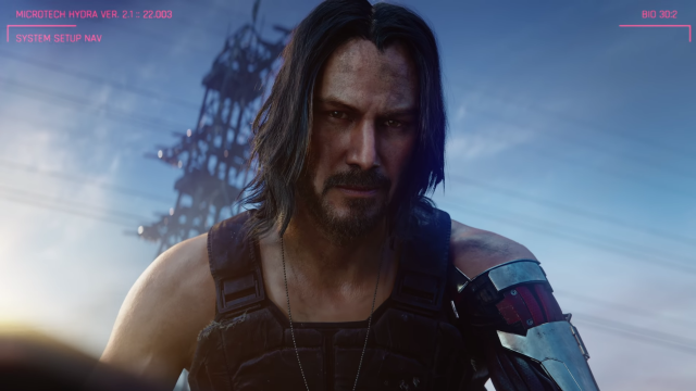 Cyberpunk 2077: E3'19 Cinematic Trailer Stills and Keanu Reeves!
