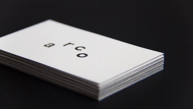 Beautiful Minimalist Brand Identity for estúdio arco