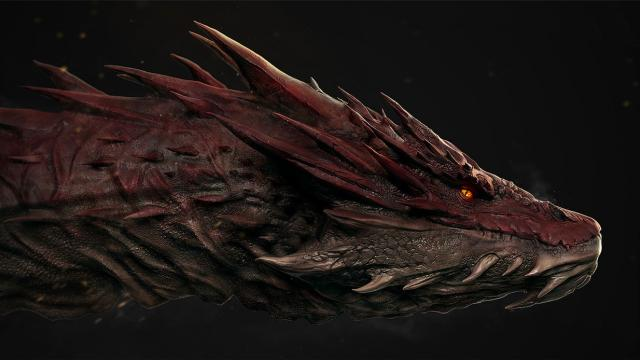 Smaug in Photoshop and ZBrush