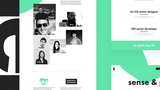 Web Design & Branding: Heartbeat Agency