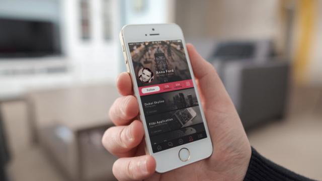 Behance Plus App Design Concept