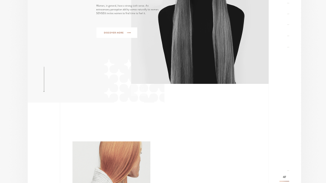 Web Design: Sense6 Fashion Website Design