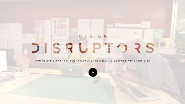 The Design Disruptors Documentary, A Huge Step For the Design Community