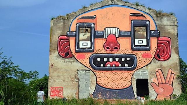 Italian Street Art by Diego Della Posta