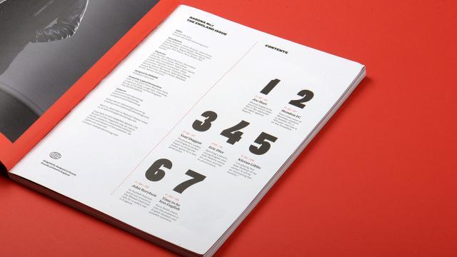 Editorial Design Inspiration: Rabona Magazine