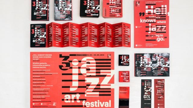 Graphic Design Inspiration: Jazz Art Festival
