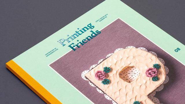 Editorial Design Inspiration: Printing Friends Magazine