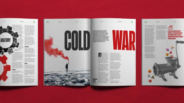Editorial Design for Top Corner Magazine