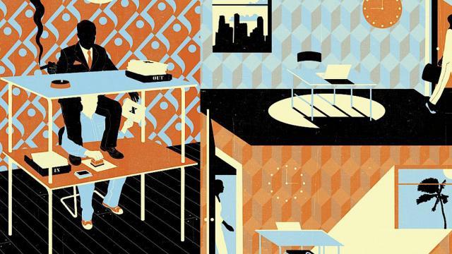Editorial Illustrations by Neil Webb