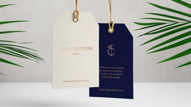 Branding: Cozy Cotton by Tom Jueris