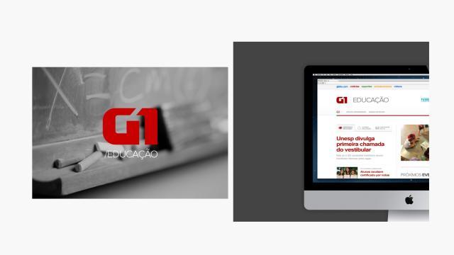 UX Design: G1 Educação