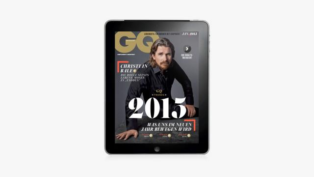 GQ Magazine iPad app