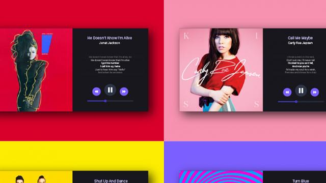 UI/UX Works by Hanna Jung