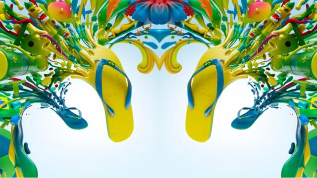 Colorful Havaianas Project by Colorsponge