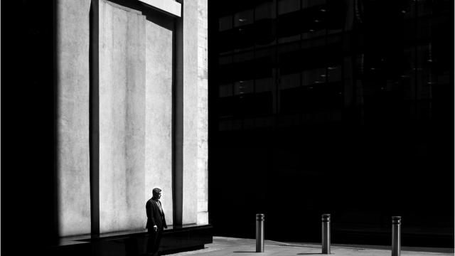 Man On Earth - Black & White Photography