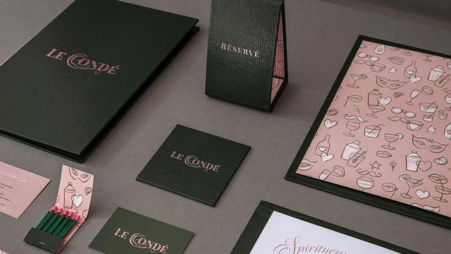 Le Condé, Punch & Cocktail Bar Branding