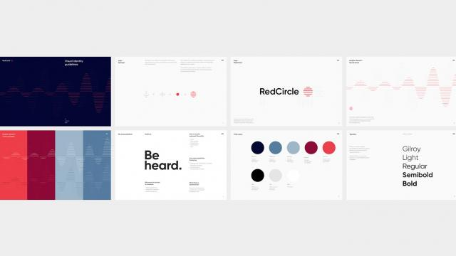 Elegant Branding Work for Red Circle by Oddone
