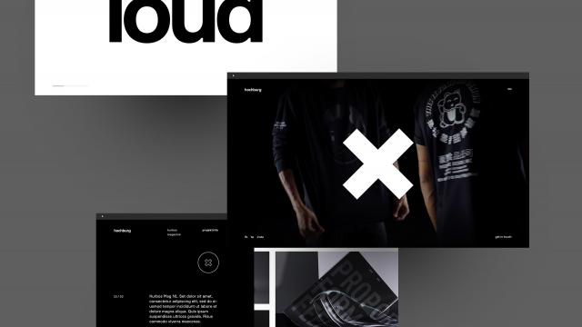 Hochburg Illustrates the Beauty of Modern Web Design